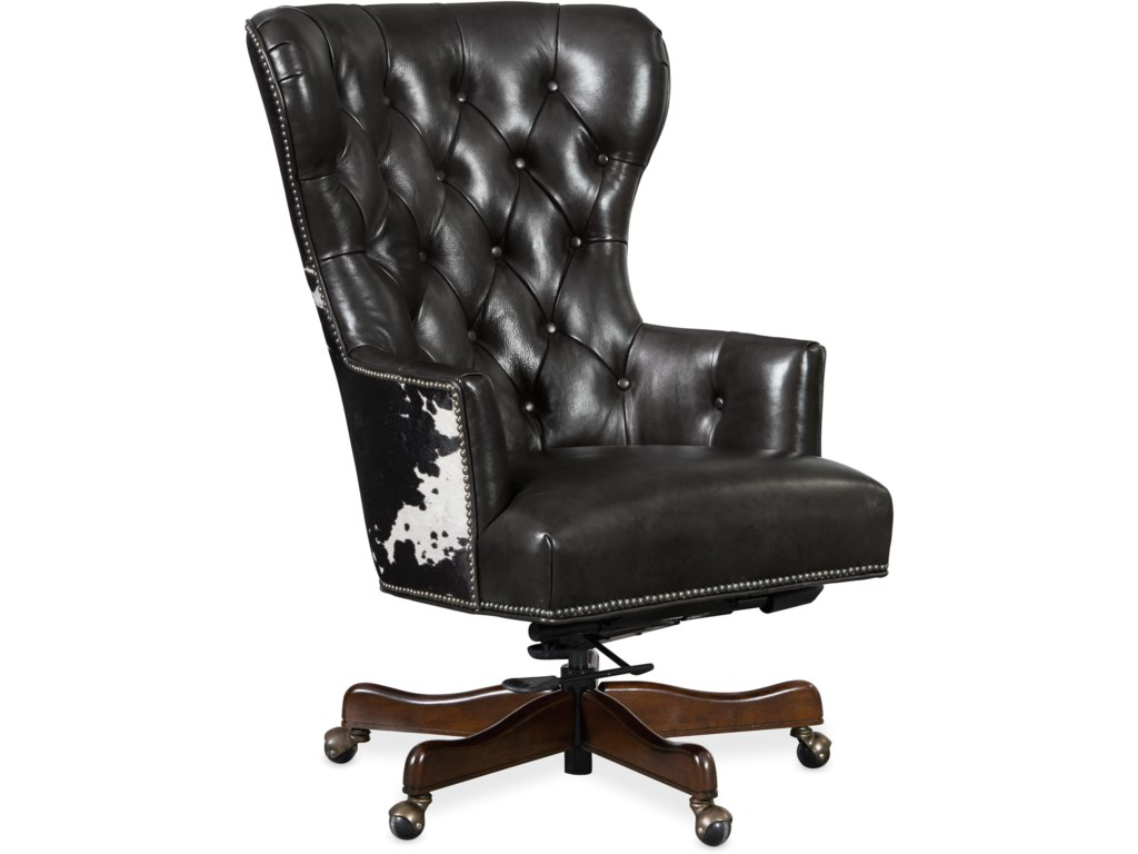 Hooker Furniture Executive Seating Traditional Home Office Chair With Tufting Wayside Furniture Executive Desk Chairs