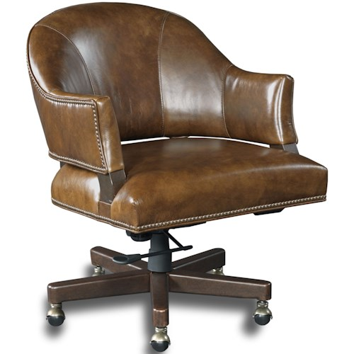 Hooker Furniture Executive Seating Traditional Swivel Desk Chair ...