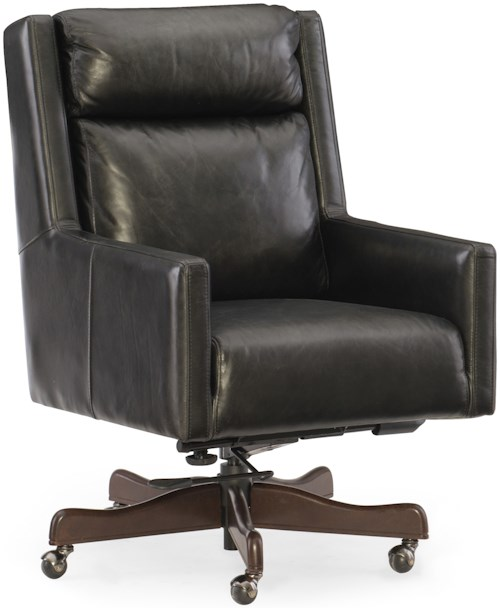 Hooker Furniture Executive Seating Ivy Home Office Chair with Track Arms