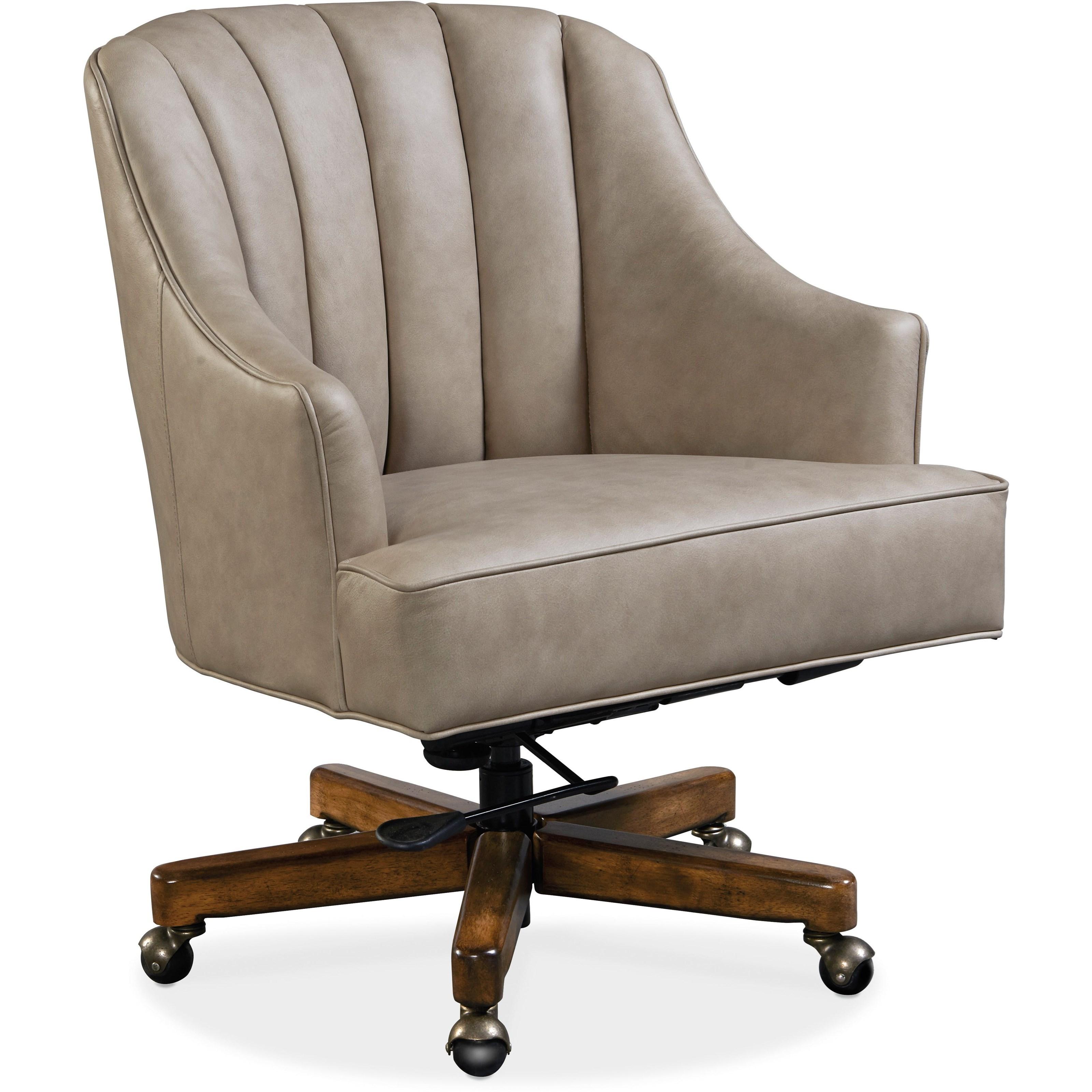 Transitional Executive Swivel Tilt Chair