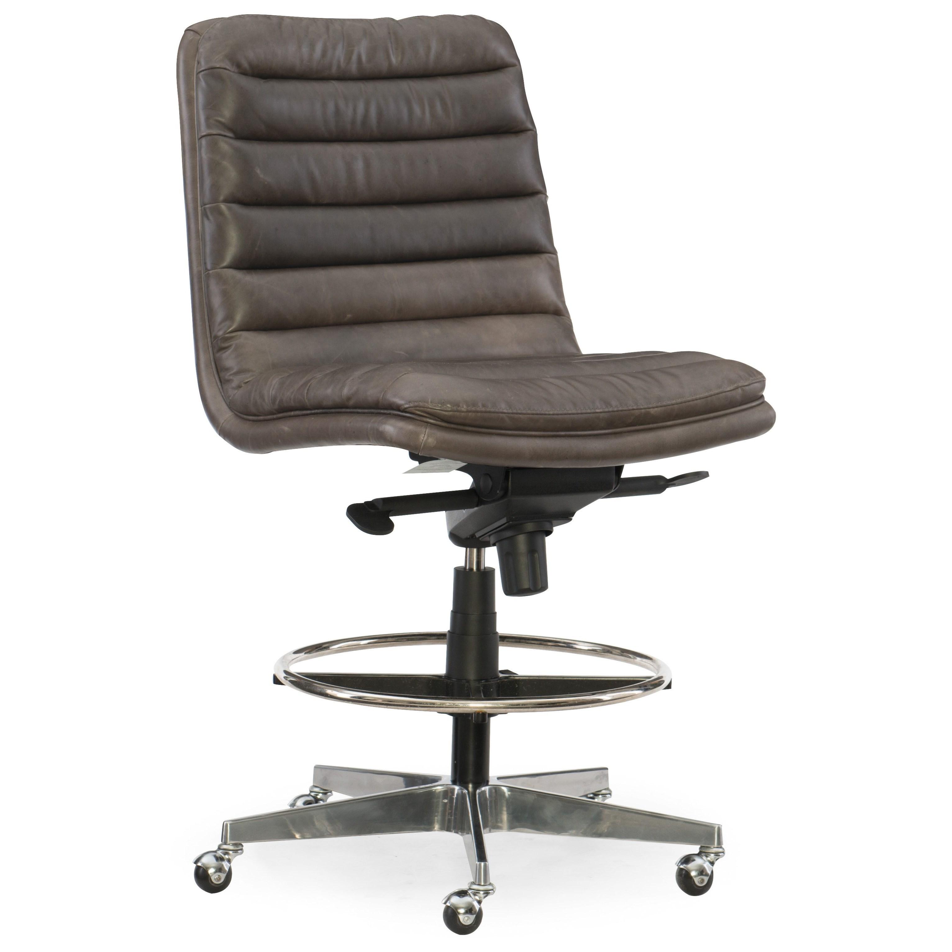 Hooker Furniture Executive Seating Wyatt Home Office Tall Desk Chair