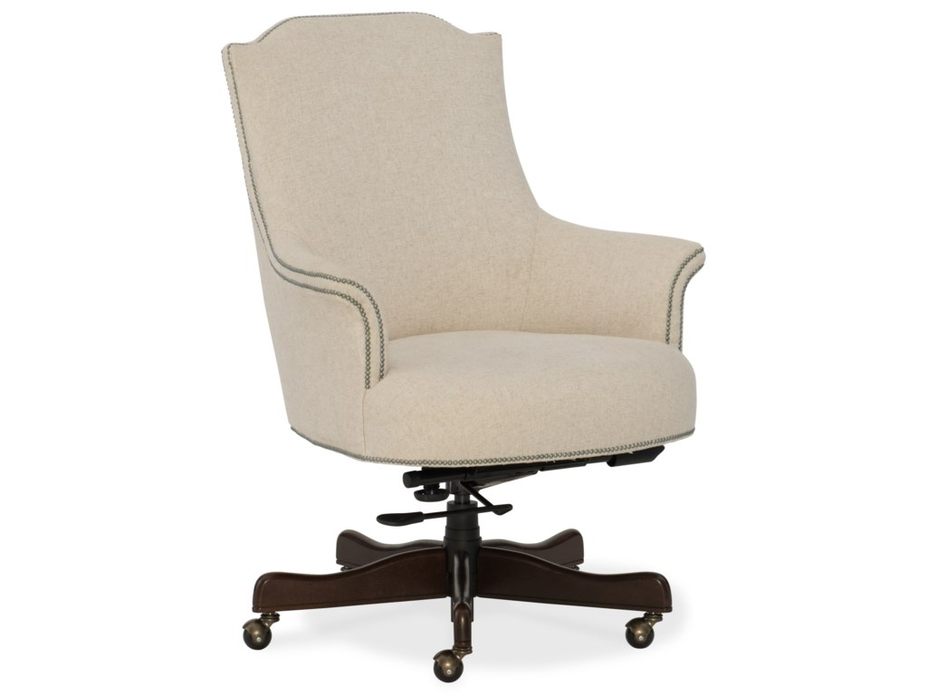 Hooker Furniture Executive Seating Daisy Home Office Chair with ...