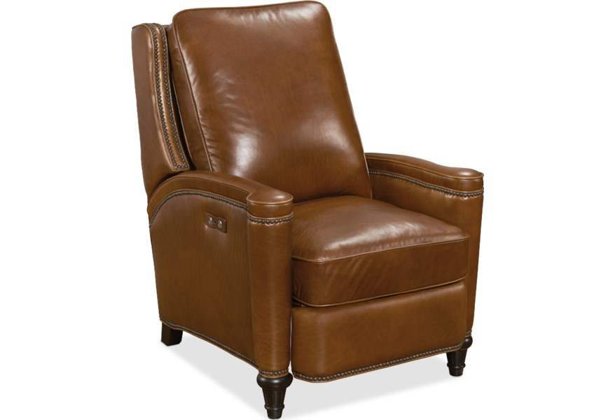 Hooker Furniture Reclining Chairs Rylea Transitional Power Recliner Lindy S Furniture Company High Leg Recliners