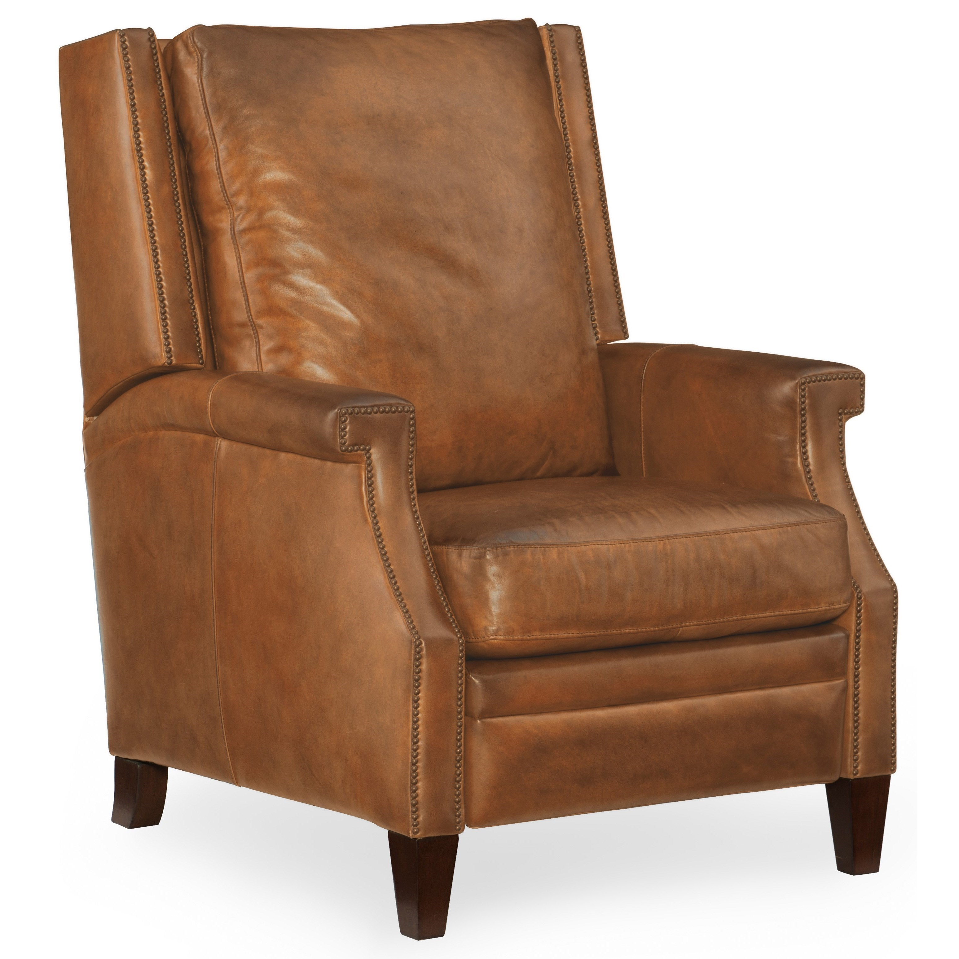 hooker furniture reclining chairs collin leather recliner with wing back baeru0027s furniture high leg recliners