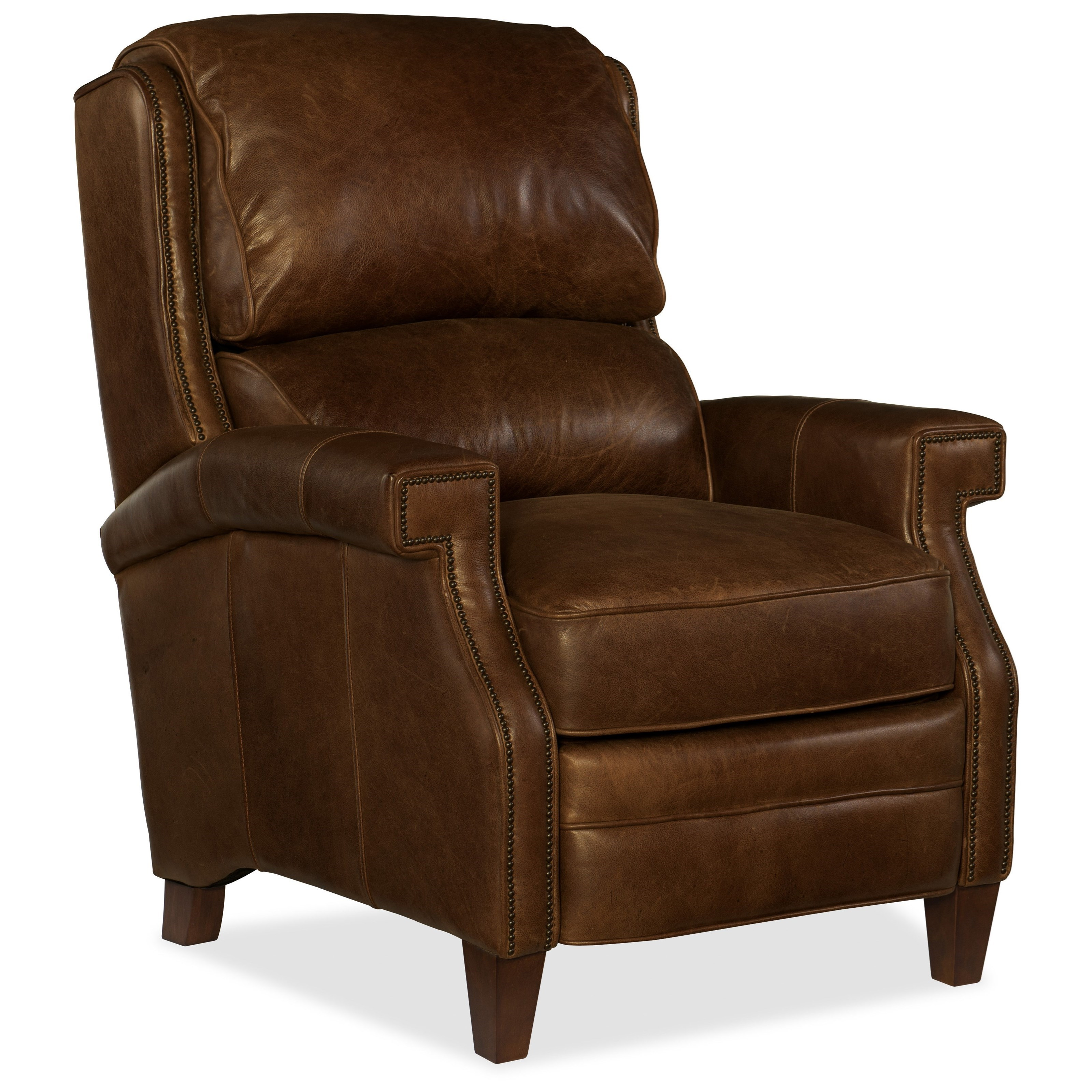 Hooker Furniture Reclining Chairs Albert Transitional Leather Recliner