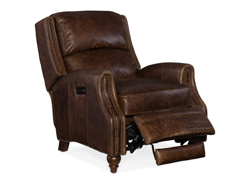 Hooker Furniture Reclining ChairsBrio Power Recliner with Power Headrest