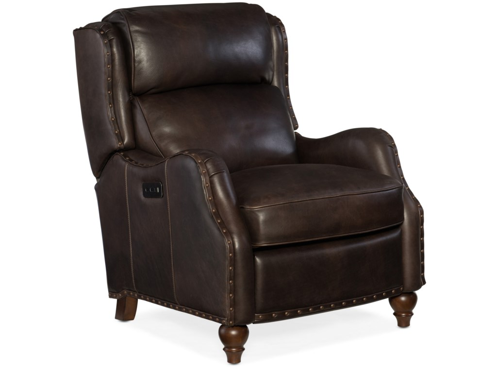 Hooker Furniture Reclining ChairsTutor Power Recliner with Power Headrest