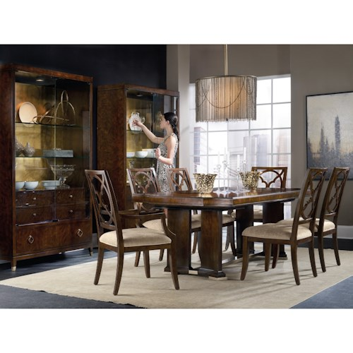 Hooker Furniture Skyline Dining Room Group
