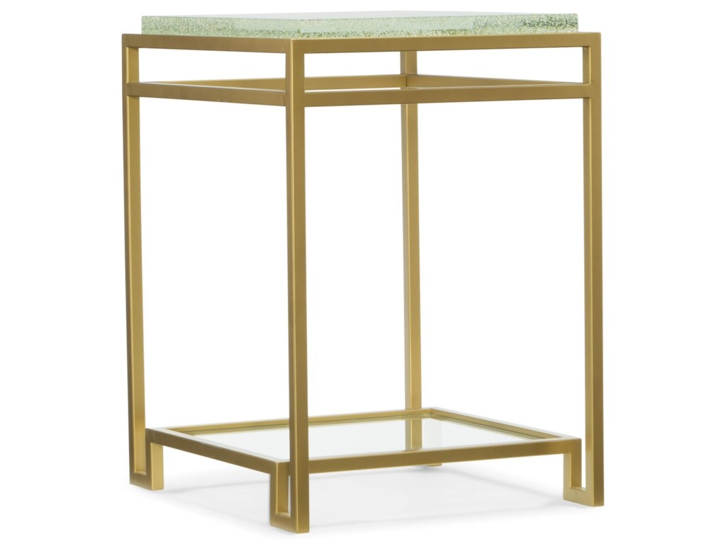 Hooker Furniture SkylineFloating Shelf Accent End Table