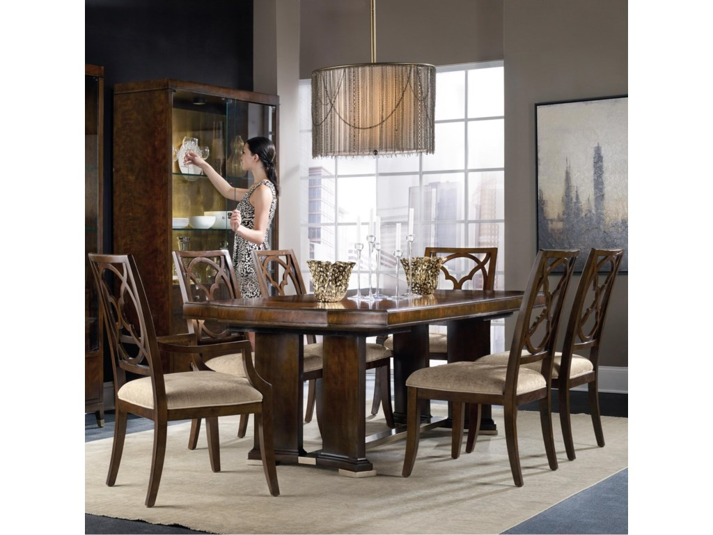 Hooker Furniture Skyline7 Piece Dining Set