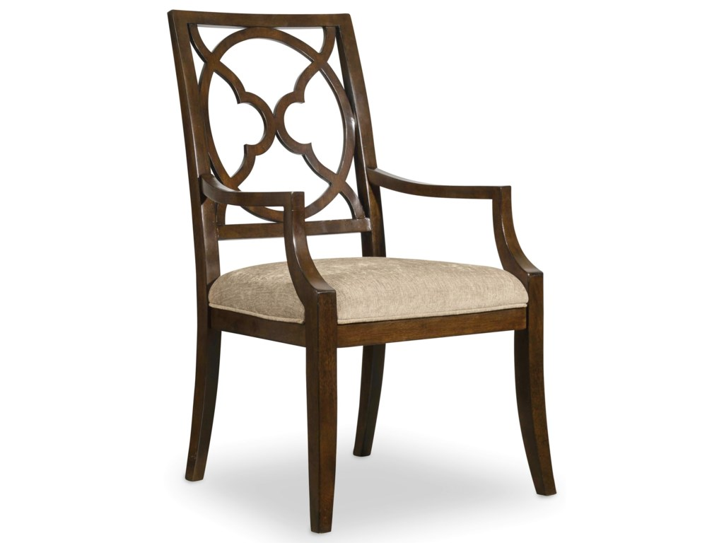 Hooker Furniture SkylineFretback Arm Chair