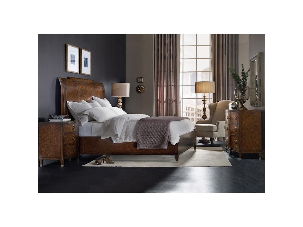 Hooker Furniture SkylineThree-Drawer Nightstand