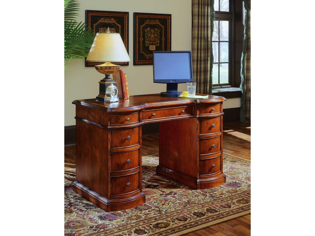Hooker Furniture Small Knee-Hole DesksKnee Hole Desk