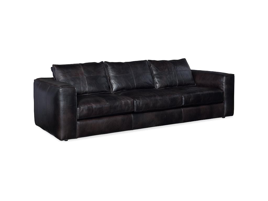 Hooker Furniture SolaceLeather Stationary Sofa