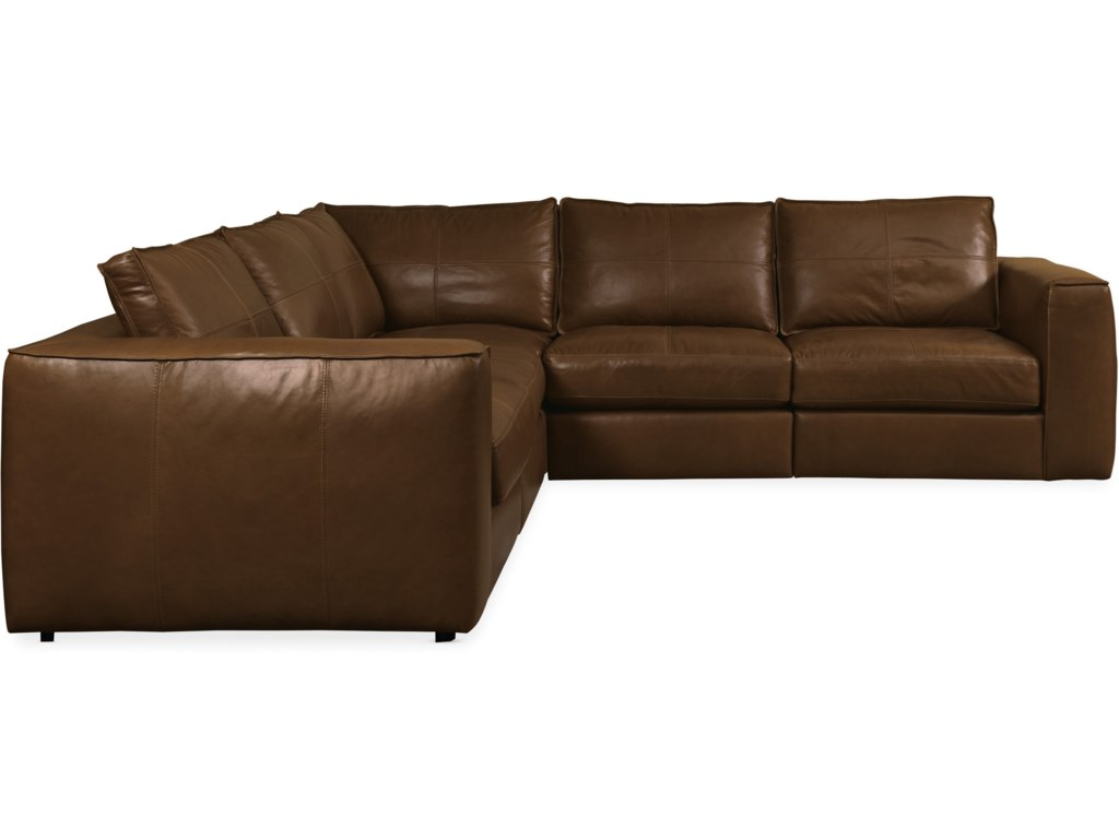 Hooker Furniture SolaceLeather Stationary Sectional