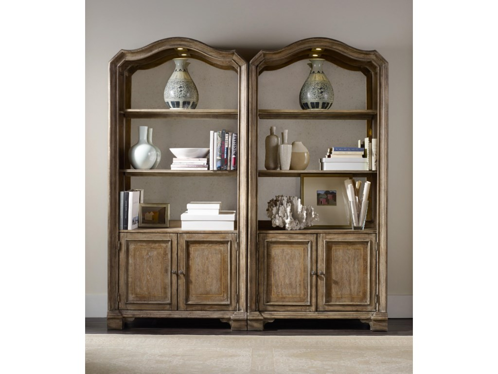 Hooker Furniture SolanaBunching Bookcase