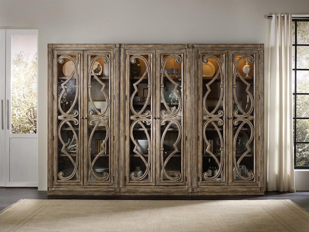 Hooker Furniture SolanaBunching Curio Cabinet