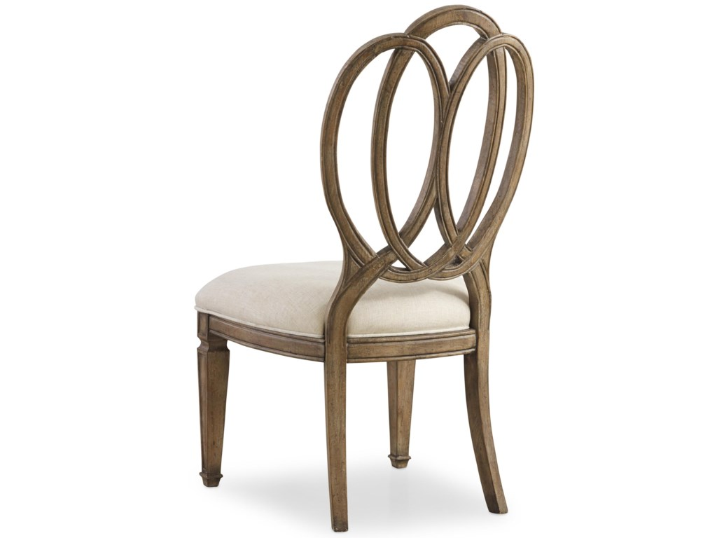 Hooker Furniture SolanaWood Back Side Chair