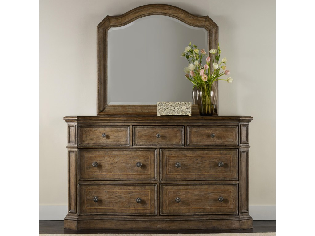 Hooker Furniture SolanaDresser and Mirror Set