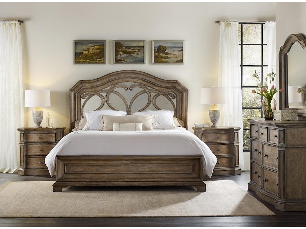 Hooker Furniture SolanaDresser and Mirror Set