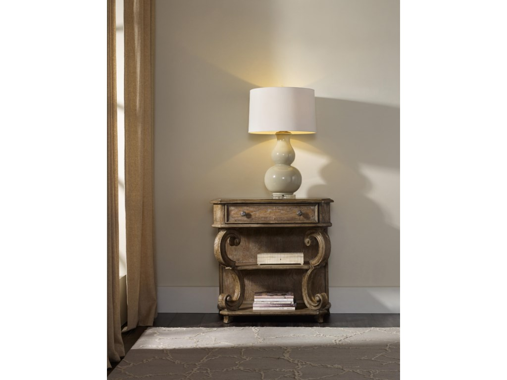 Hooker Furniture SolanaLeg Nightstand