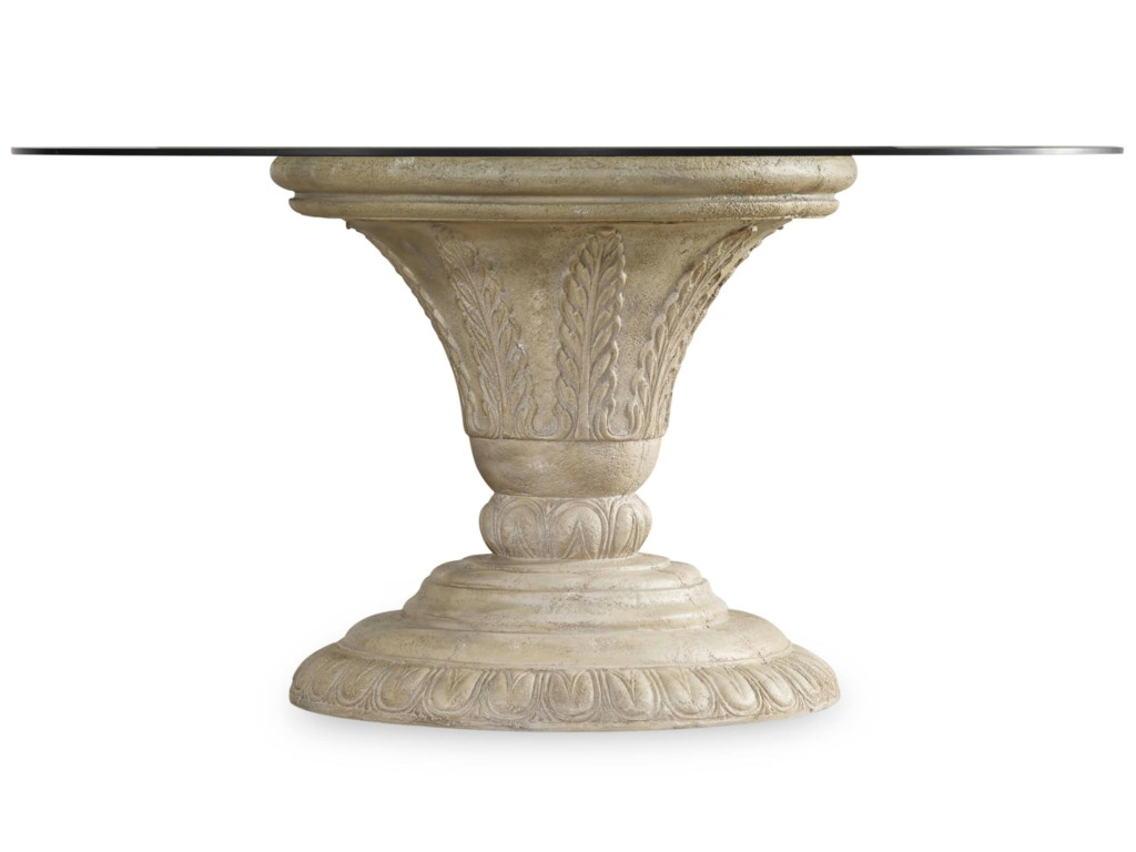 Hooker Furniture SolanaRound Dining Pedestal Table