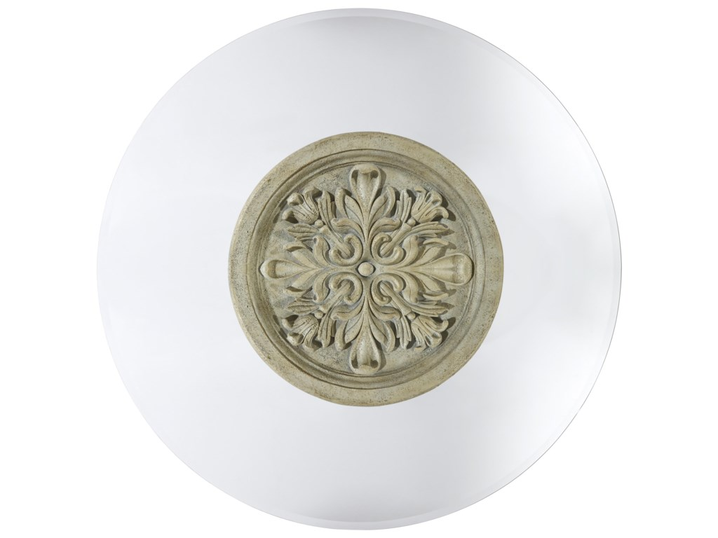 Top View of Table Reveals Beautiful Acanthus Leaf Motif