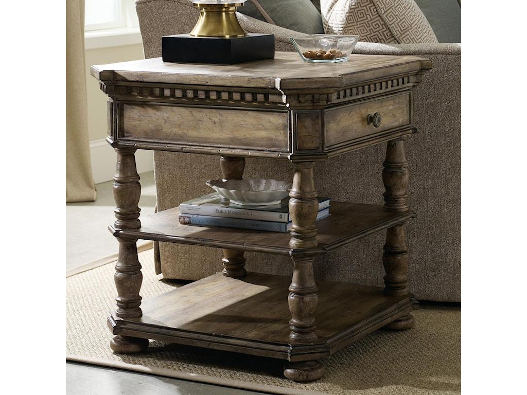Hooker Furniture SorellaSquare End Table