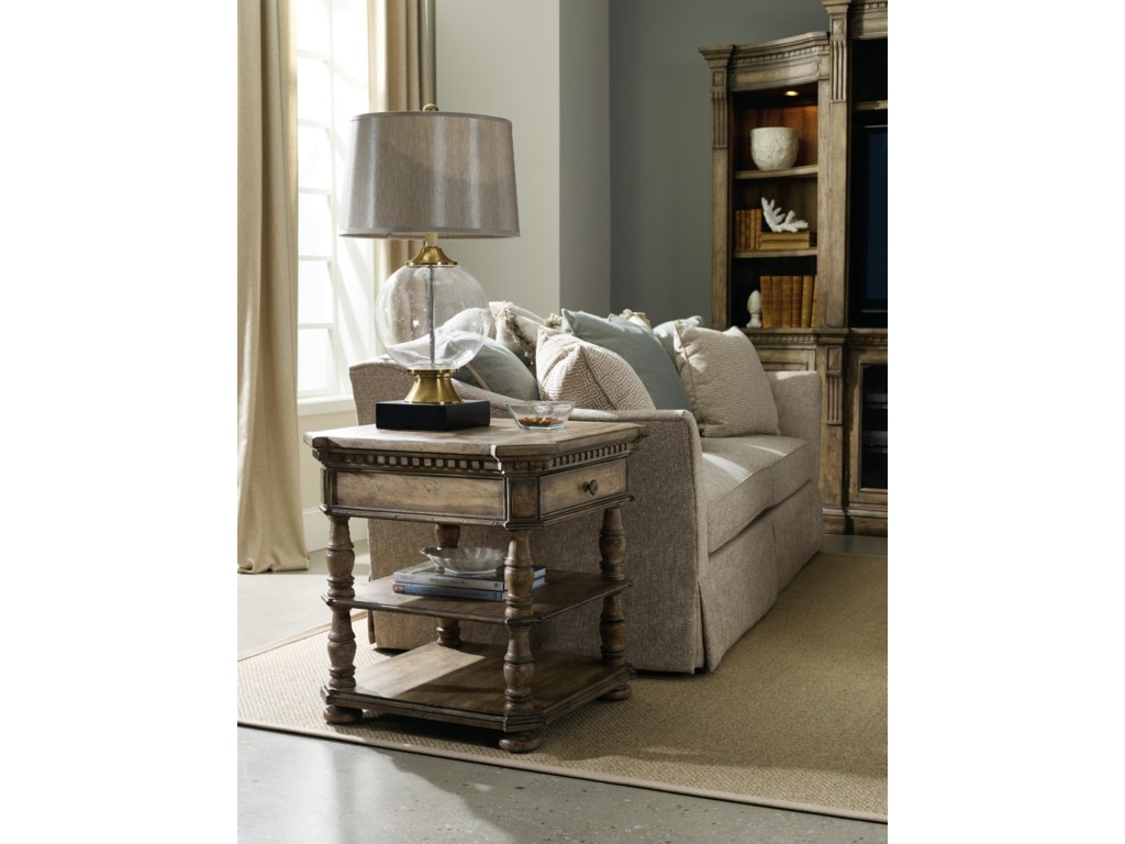 Hooker Furniture SorellaSquare End Table