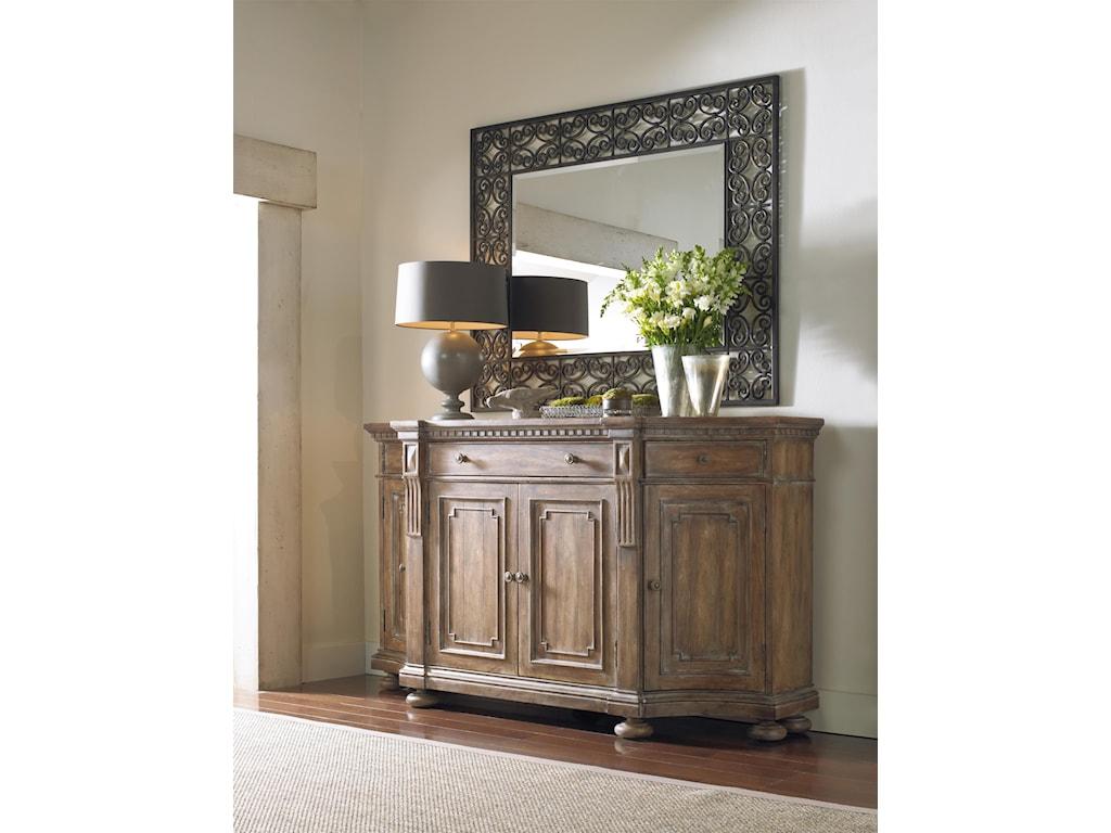 Hooker Furniture SorellaShaped Credenza