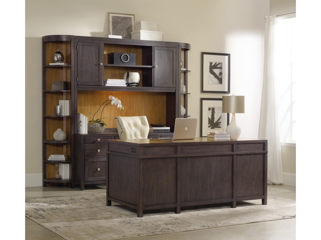 Hooker Furniture South ParkComputer Credenza Wall Unit