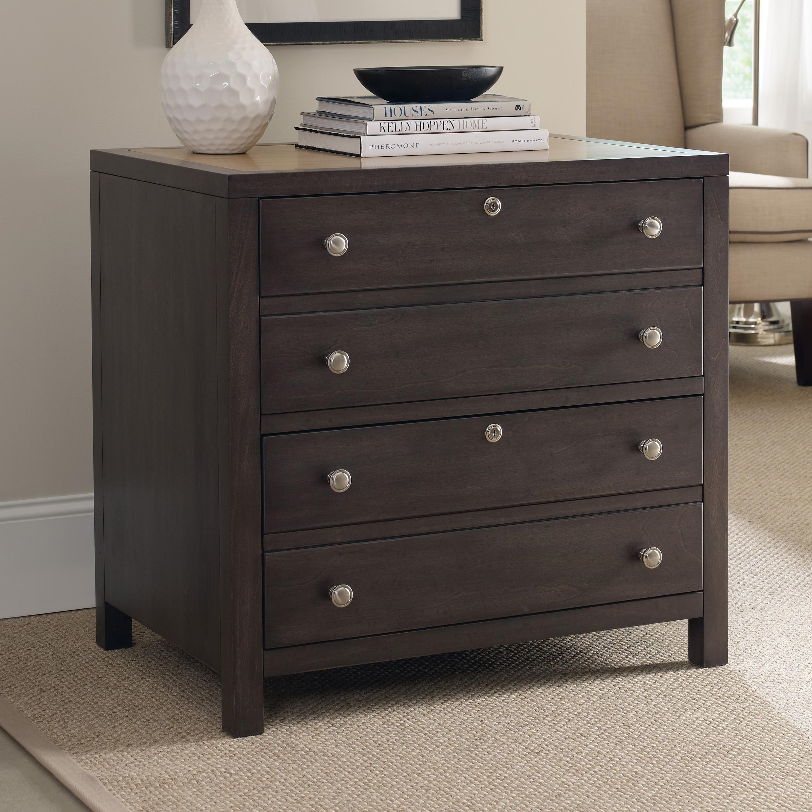 Hooker Furniture South Park Lateral File Cabinet with 2 Locking ...