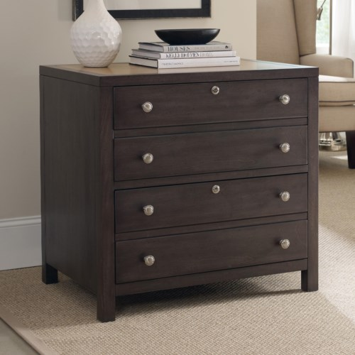 hooker furniture south park lateral file cabinet with 2 locking