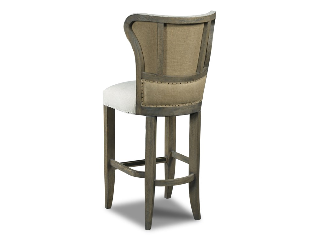 Hooker Furniture Stools LightRum Runner Deconstructed Barstool