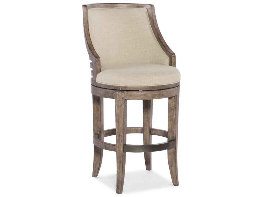 Hooker Furniture Stools MediumLainey Transitional Barstool