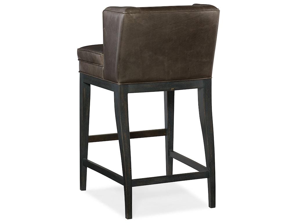 Hooker Furniture Stools DarkJada Contemporary Barstool