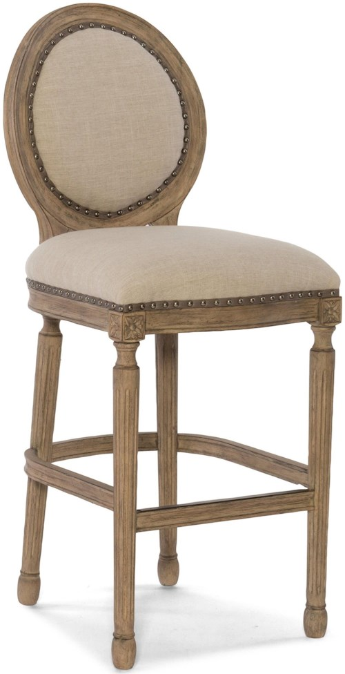 Hooker Furniture Stools Medium Lambert Counter Stool in French Country Style