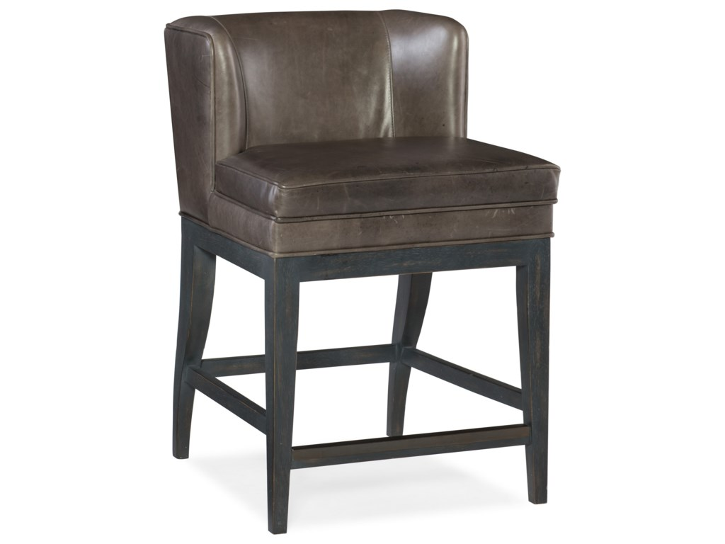 Hooker Furniture Stools DarkJada Contemporary Counter Stool