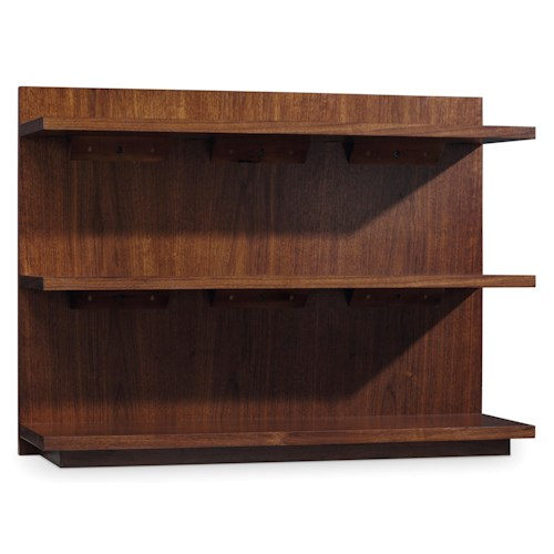 Hooker Furniture Studio 7H Chapter Two Sofa/Bookcase Console with 3 Shelves