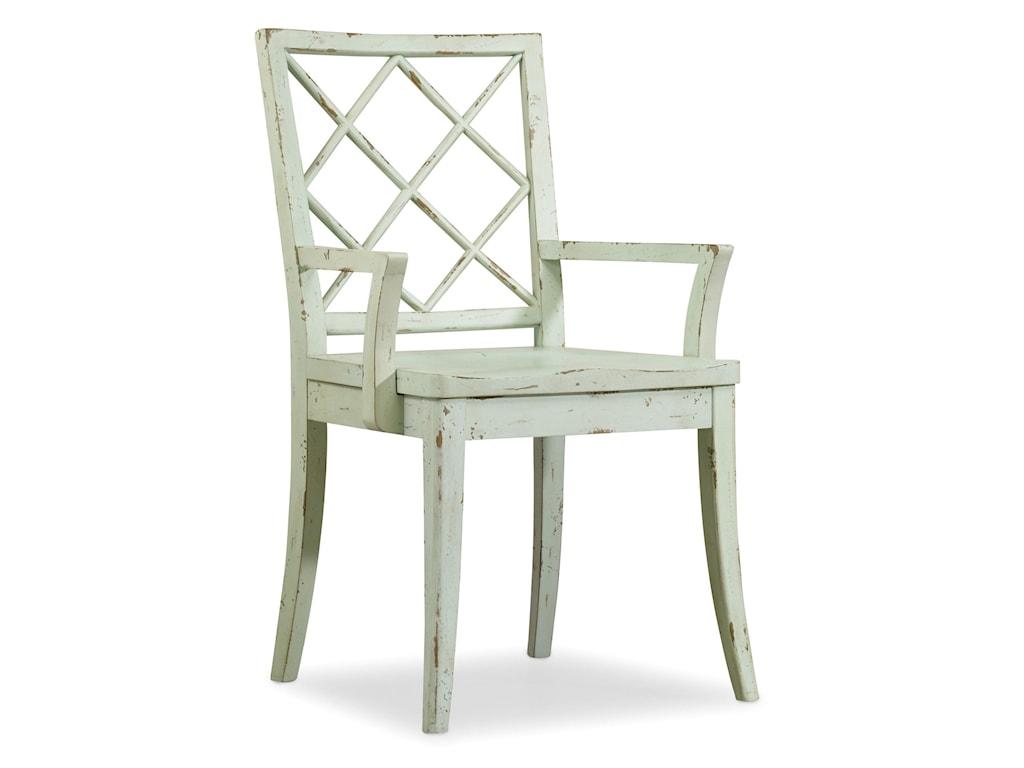 Hooker Furniture Sunset PointX Back Arm Chair