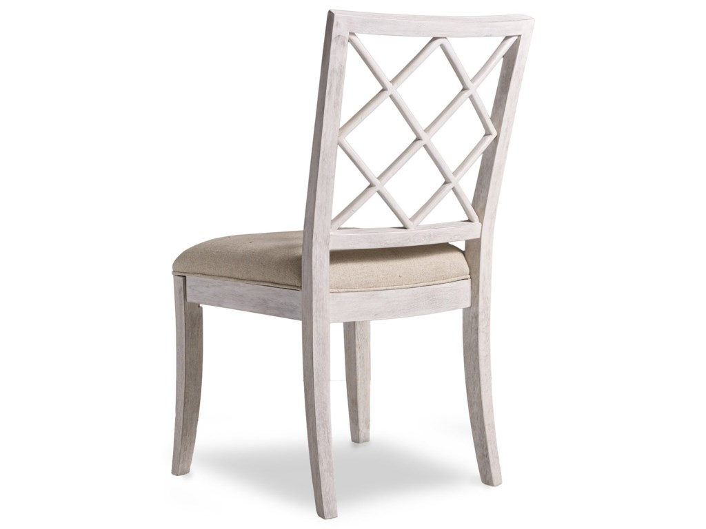Hooker Furniture Sunset PointUpholstered X-Back Side Chair
