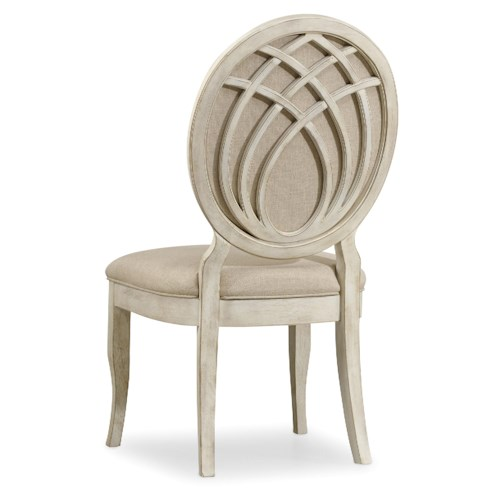 Hooker Furniture Sunset Point Casual Cottage Coastal Upholstered Side Chair