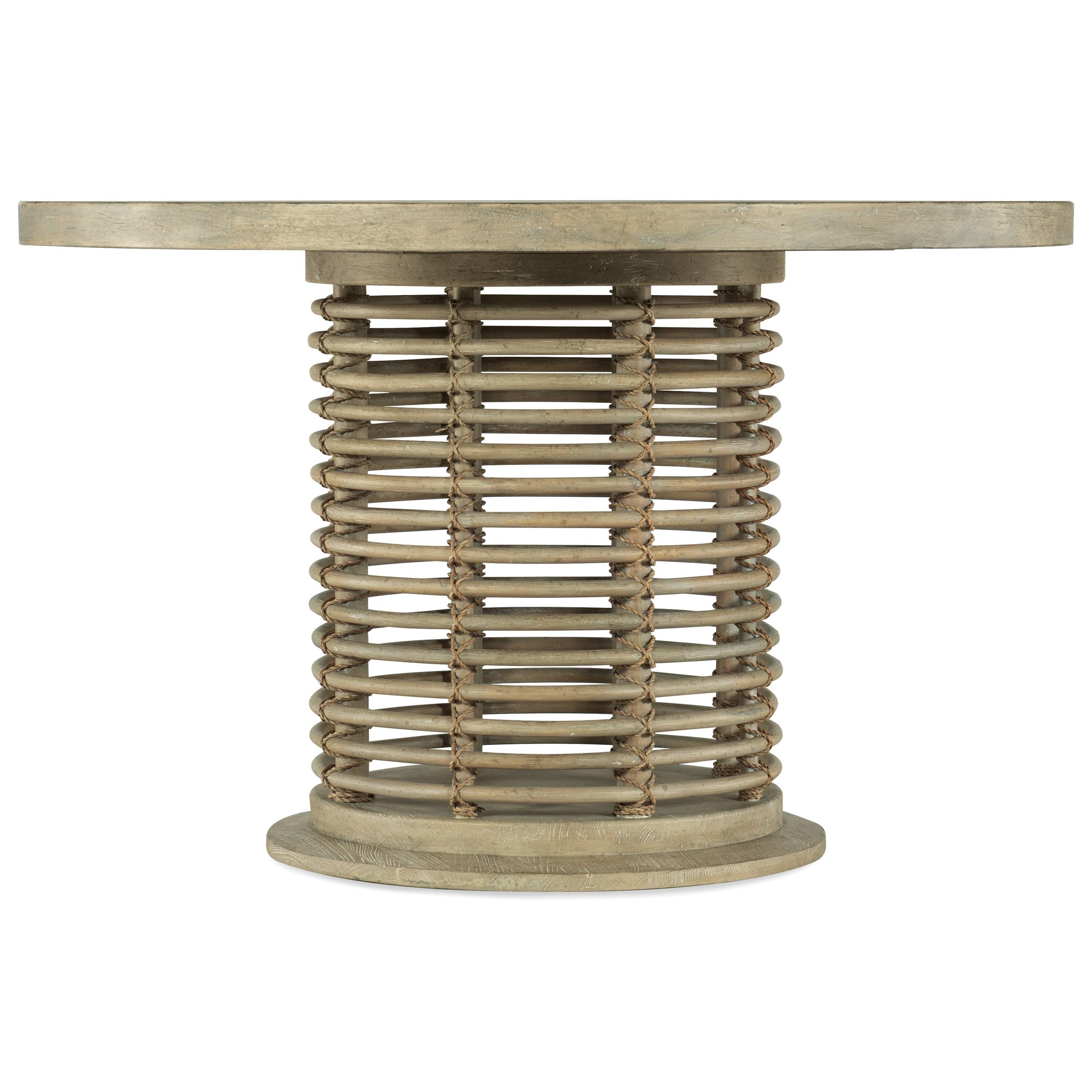 Coastal Rattan Round Dining Table