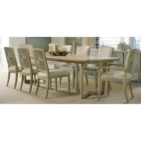 9-Piece Dining Table and Chair Set