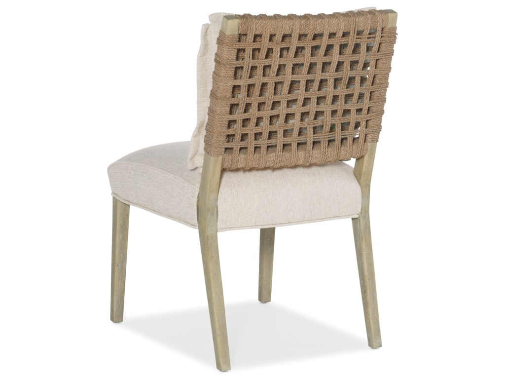 Hooker Furniture SurfriderWoven Back Side Chair