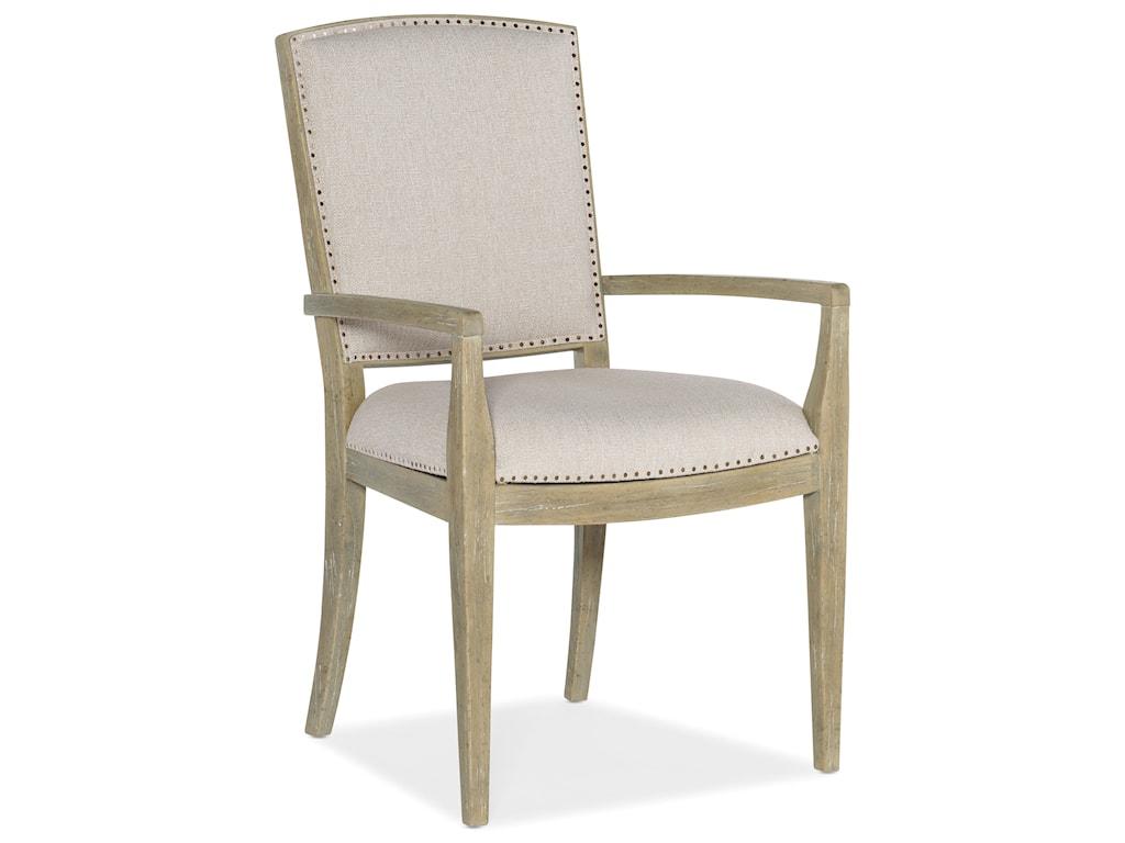Hooker Furniture SurfriderCarved Back Arm Chair