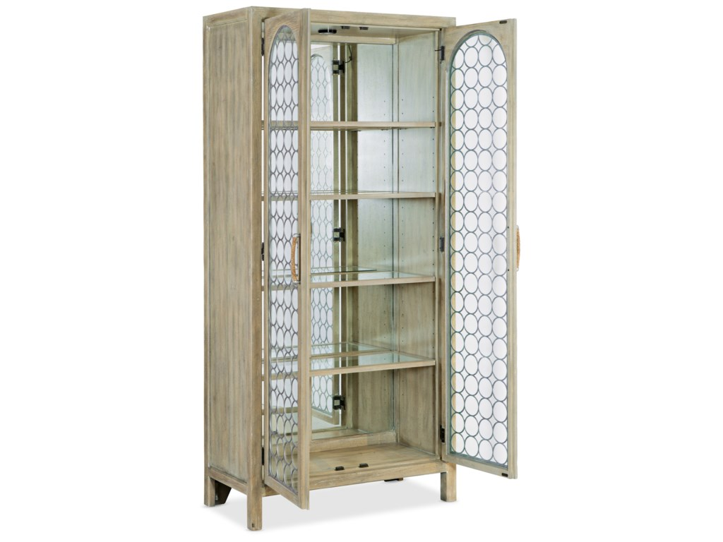 Hooker Furniture SurfriderDisplay Cabinet