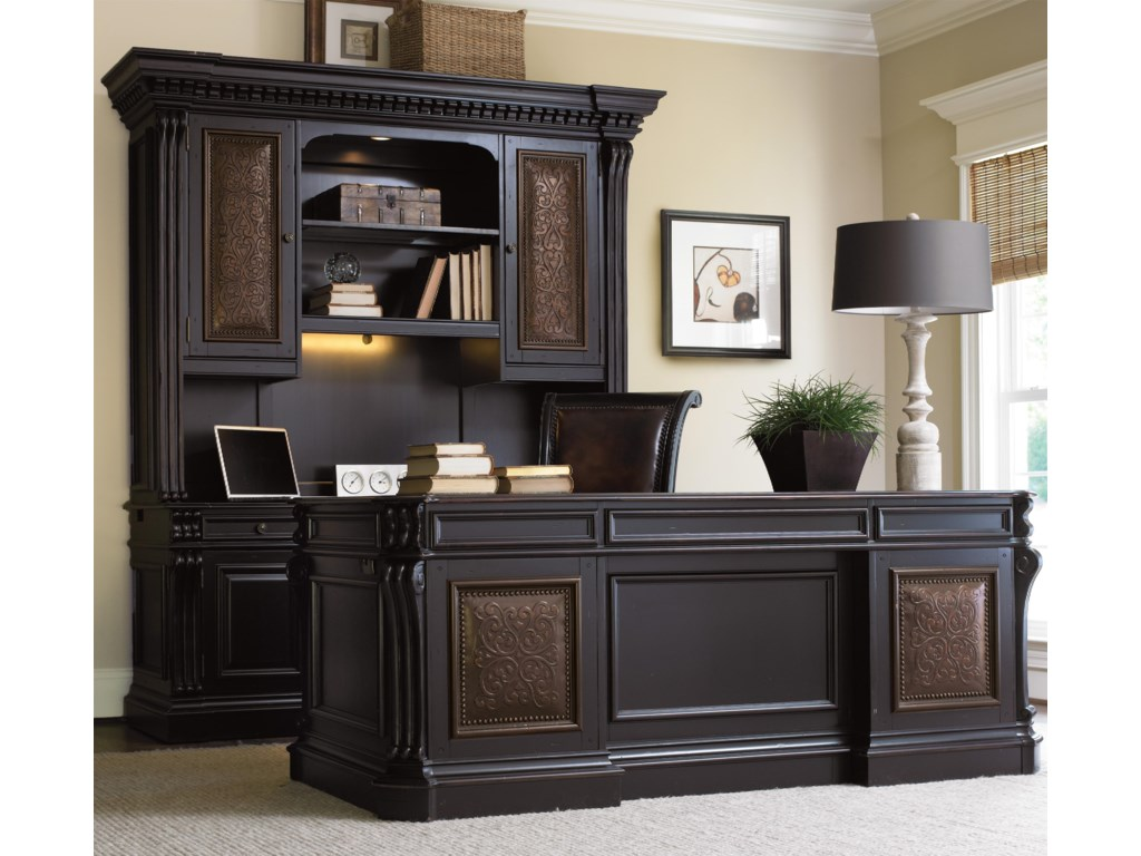Executive Desk Shown in Room Setting