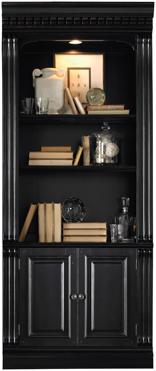 furniture hooker b width w bookcases belfort file height brookhaven trim base threshold bookcase item products lateral