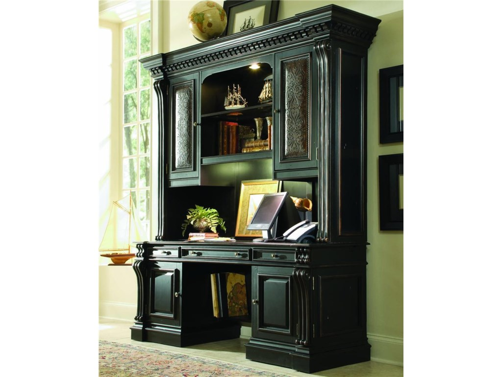dump of hutch the credenza picture oak furniture home office outlet parnon luxe